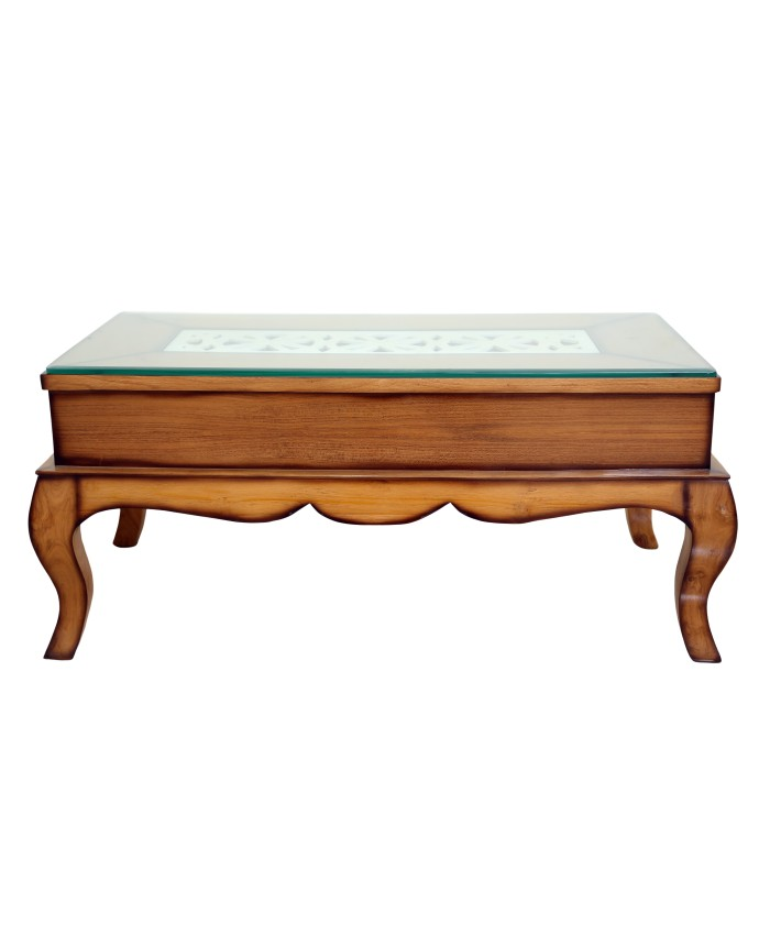 Buy Online Teak Wood Small Amp Large Centre Table Cum Coffee