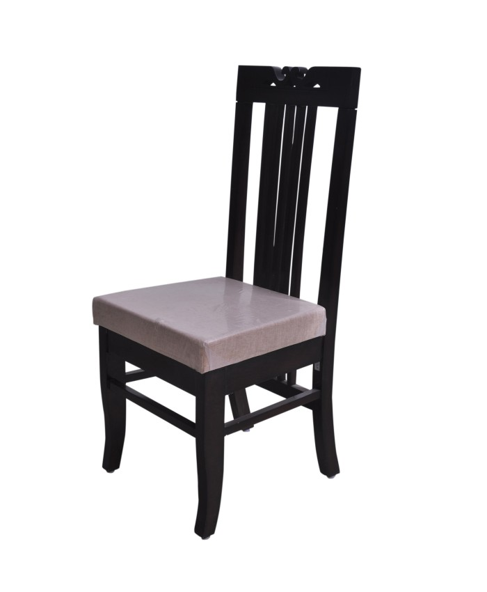 Espresso Dining Chair In Light Weight