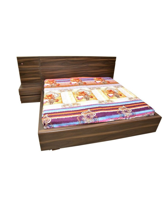 Double Bed With Attached Side Tables Table Designs