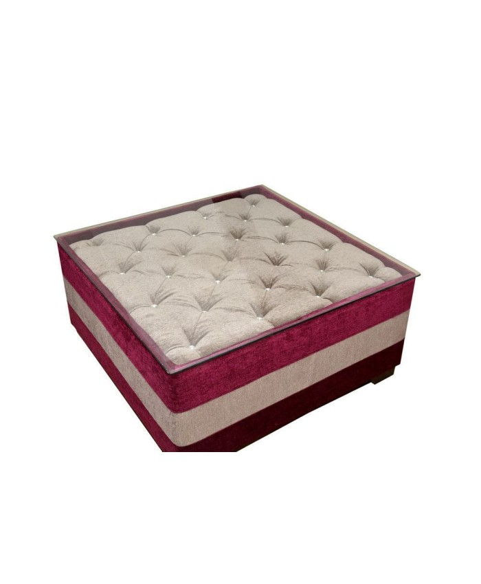 Pink Cushion Centre Table