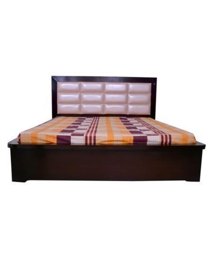 Double Bed With Storage Boxes & 12 Cushions