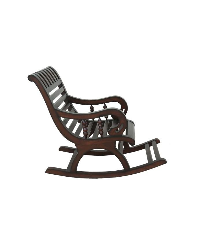 Buy Online Espresso Wooden Nursery Baby Rocking Chair For