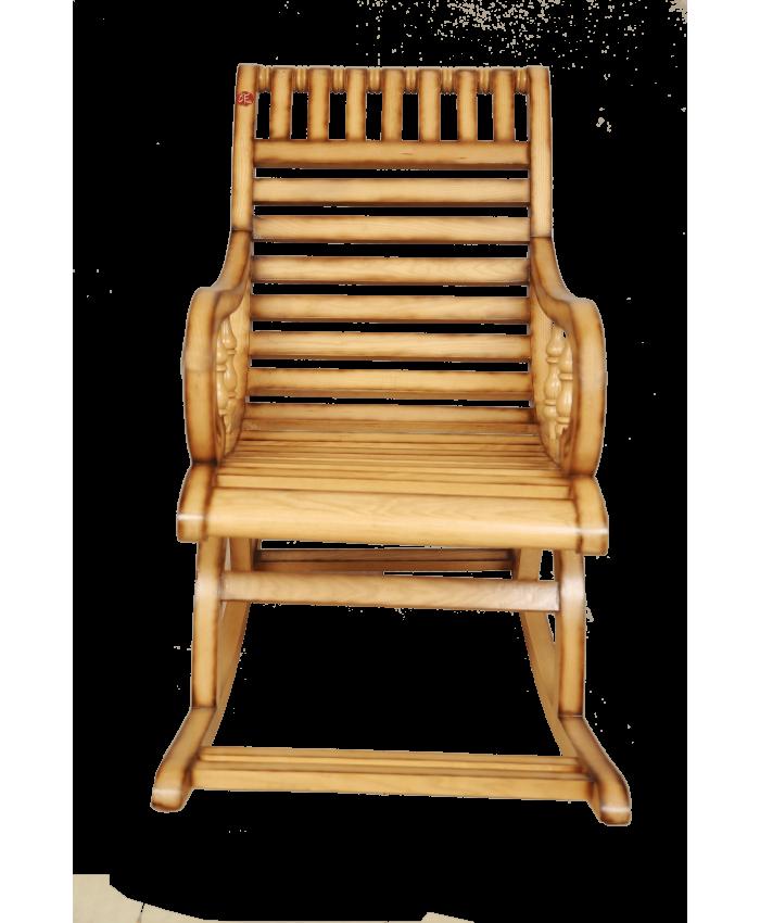 Buy online white ash natural coloured comfy glider wooden